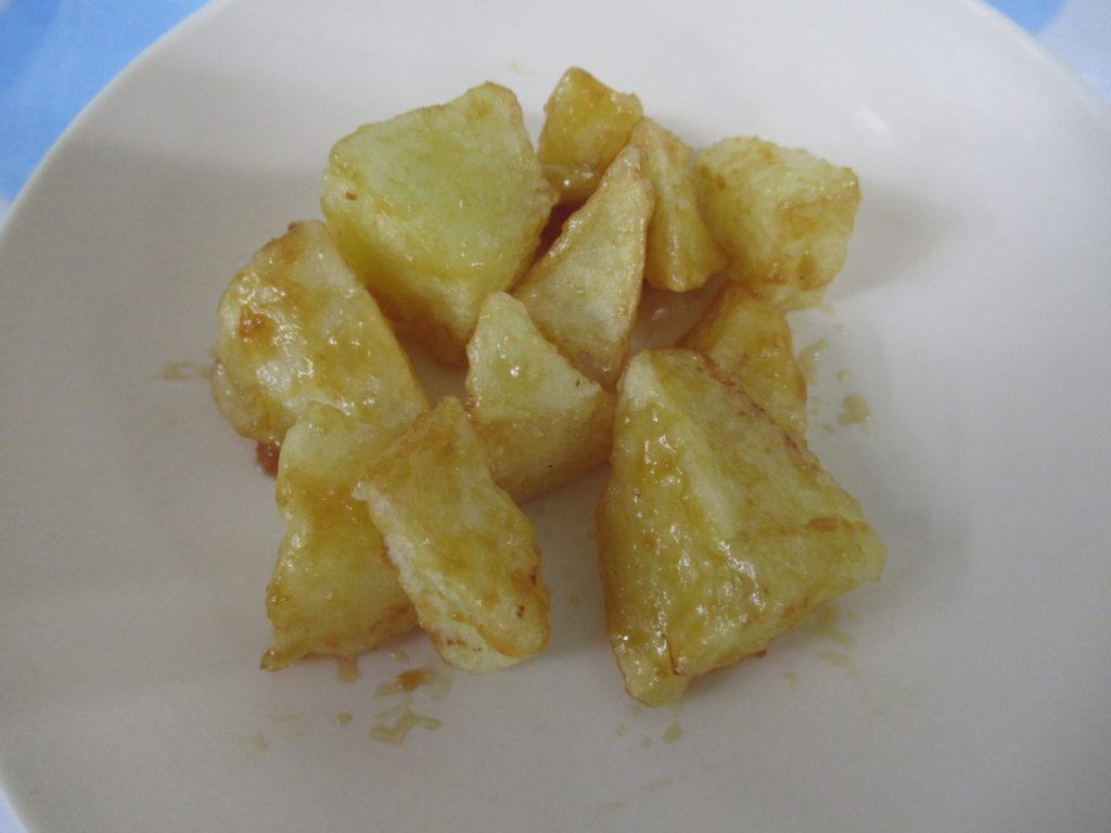【味噌ポテト】甘じょっぱいみそだれと 揚げた芋の相性はばっちりです!